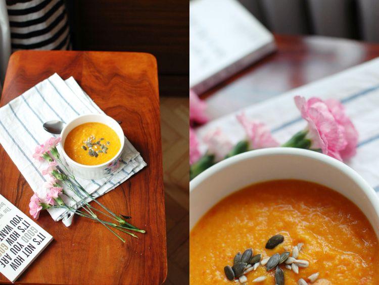 Słodko-kwaśna zupa z ananasem i papryką