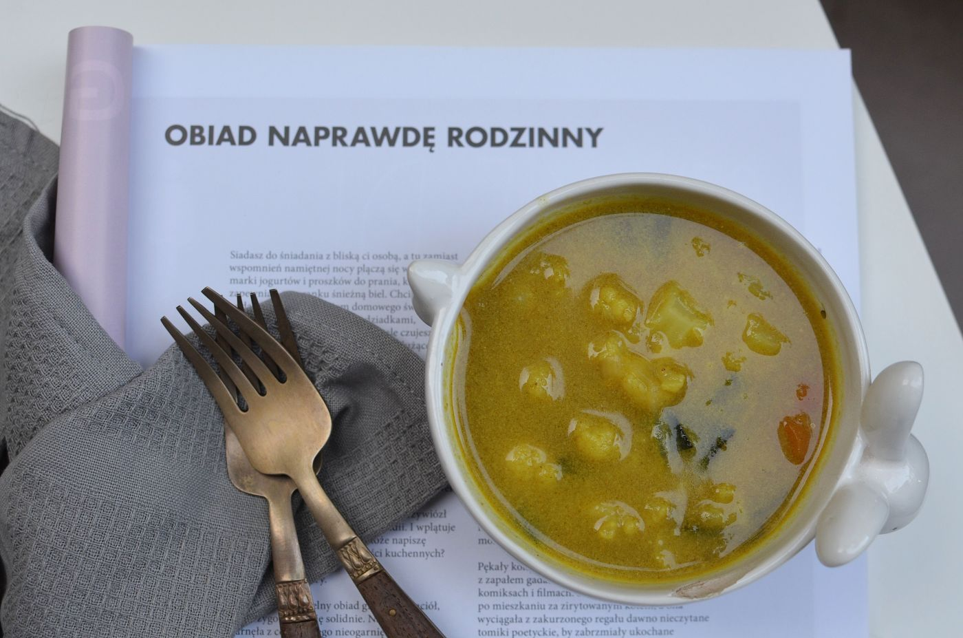 curry z kalafiorem